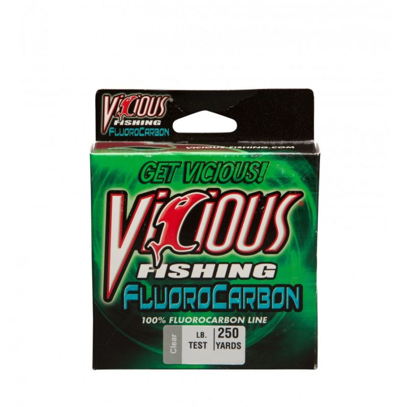 Vicious 100% Fluorocarbon 200 Yards