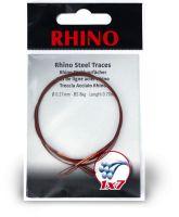 0,33mm Rhino Steel Trace 1x7 0,7m 12kg 2 pieces
