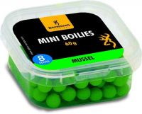 Mini Boilie, pre-drilled green Mussel 8mm 60g