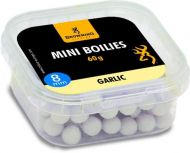 Mini Boilie, pre-drilled white/nature Garlic 8mm 60g