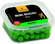 Mini Boilie, pre-drilled green Mussel 10mm 60g
