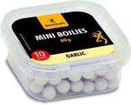 Mini Boilie, pre-drilled white/nature Garlic 10mm 60g