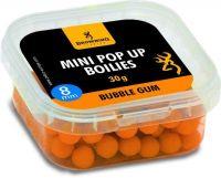Mini Pop-up Boilie, pre-drilled orange Bubble Gum 8mm 30g