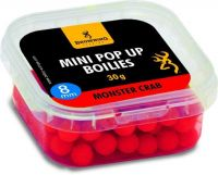 Mini Pop-up Boilie, pre-drilled red Monster Crab 8mm 30g