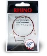 #1 Rhino Steel Trace 1x7 15kg 0,36mm 1 pieces 0,6m
