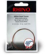 #2 Rhino Steel Trace 1x7 9kg 0,27mm 1 pieces 0,6m