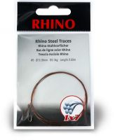 #5 Rhino Steel Trace 1x7 7kg 0,24mm 1 pieces 0,6m