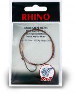 #1/0 Rhino Steel Trace 7x7 12kg 0,42mm 1 pieces 0,6m