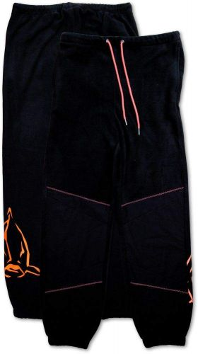 XL Fleece Pants black