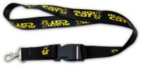 Black Cat Lanyard Keychain