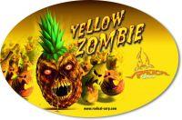 Sticker Yellow Zombie 14,5cm 9,5cm