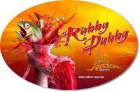 Sticker Rubby Dubby 14,5cm 9,5cm