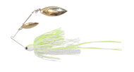 Atlas Spinnerbait 3/8oz Chartreuse White - Gold