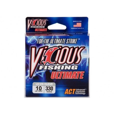 Vicious Ultimate 2360 Yards Clear/Blue Floures