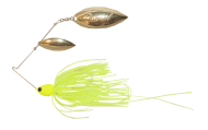 Atlas Spinnerbait 3/8oz Chartreuse - Gold